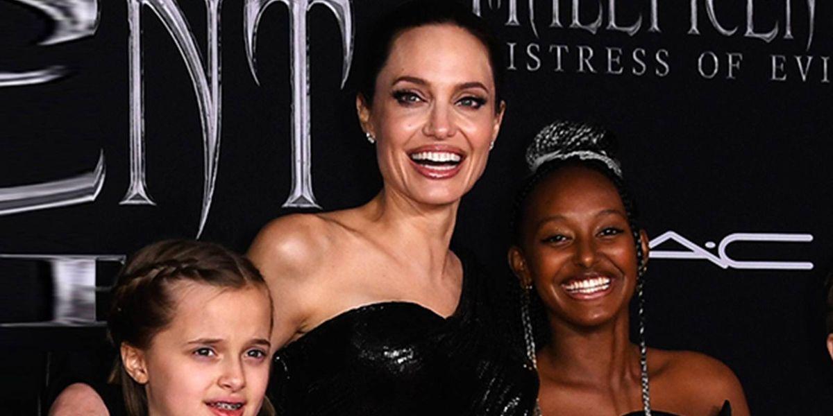 Zahara Jolie Pitt lució como toda una princesa en Etiopía con un hermoso vestido blanco