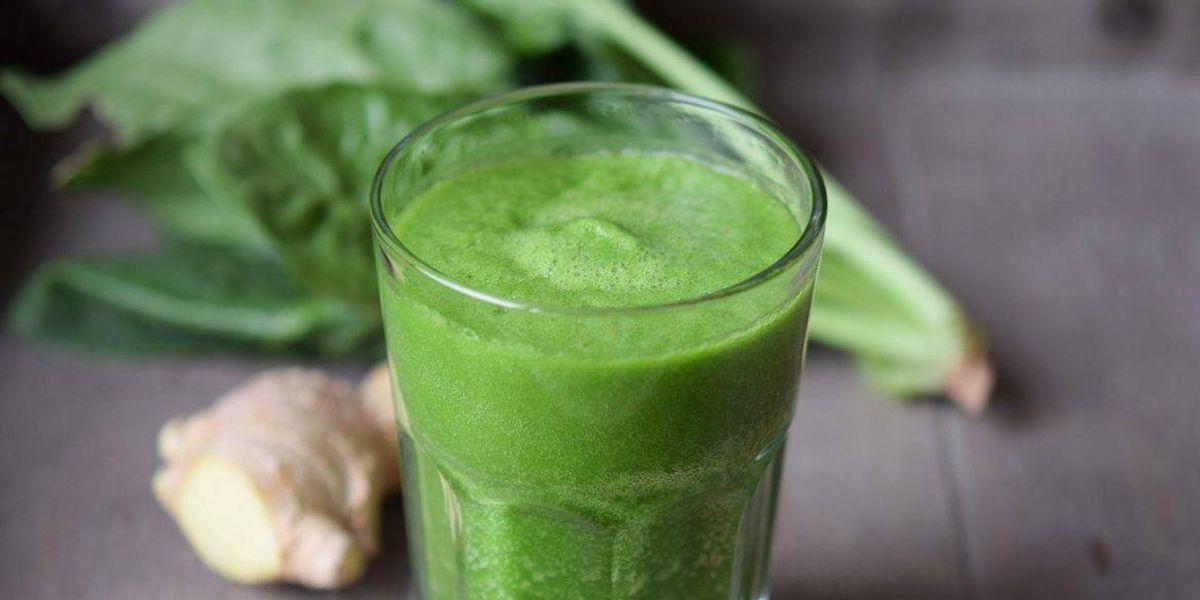 Batido verde para darle un plus de fibra al organismo