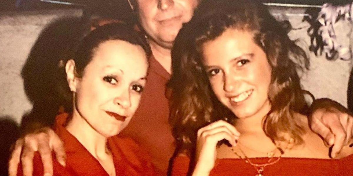 """""""Mamá Pasca"""": Ella es la mamá de Claudia Conserva arrasa en redes sociales"""