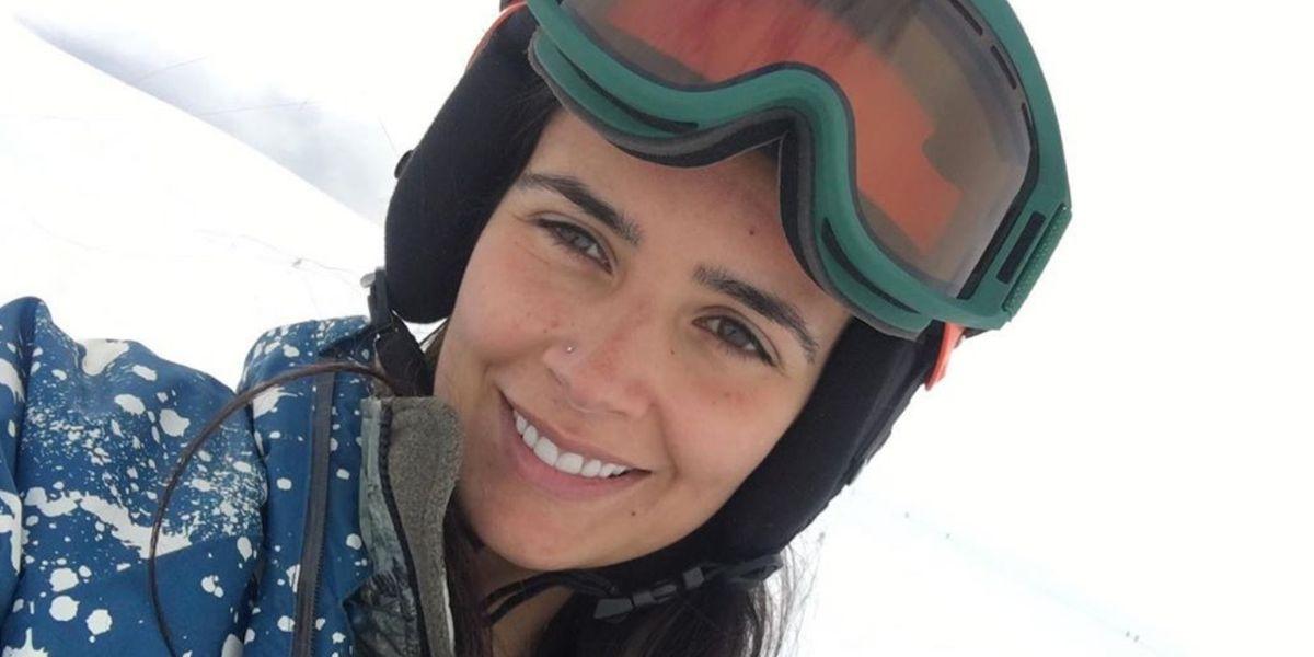 ¡Está enorme! La hija de Dominique Gallego enternece las redes sociales con su mascarilla