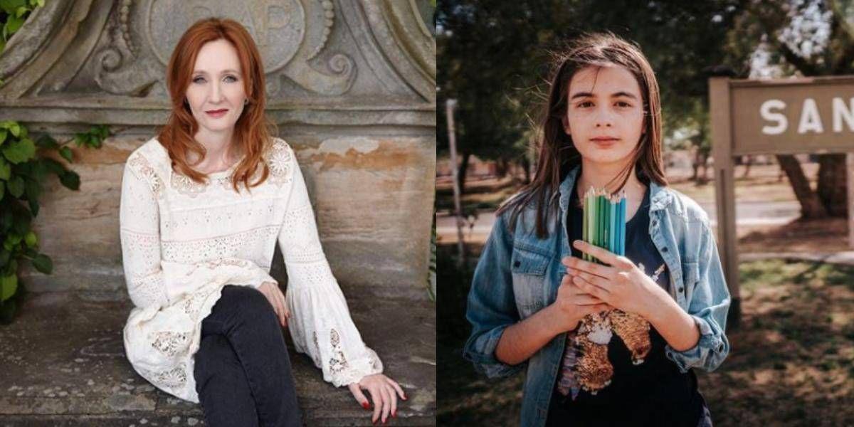 Esta niña de 13 años cumplió su sueño al poder ilustrar el nuevo libro de J.K. Rowling