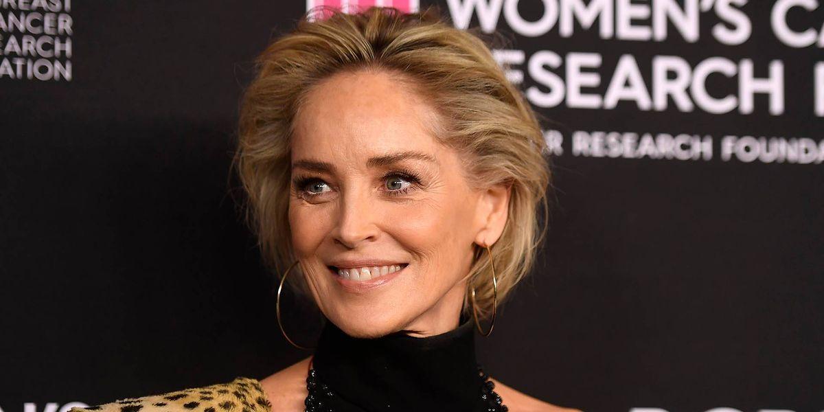 Un rayo cayó sobre Sharon Stone y la dejó inconsciente