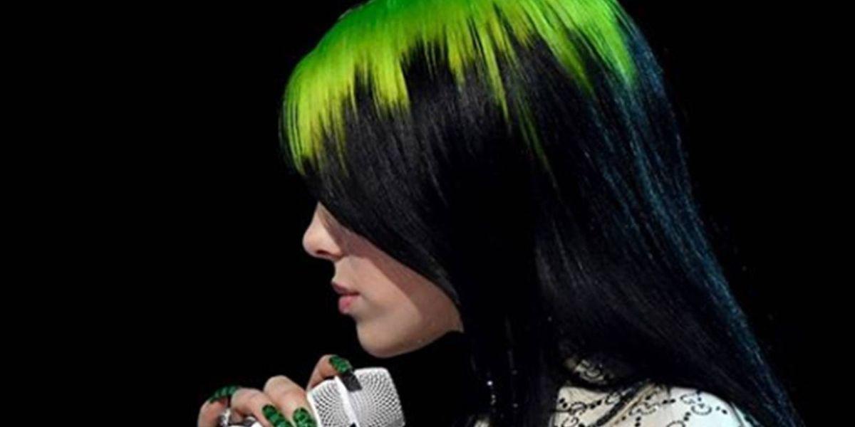 Diseños de uñas Gucci para deslumbrar al mejor estilo de Billie Eilish