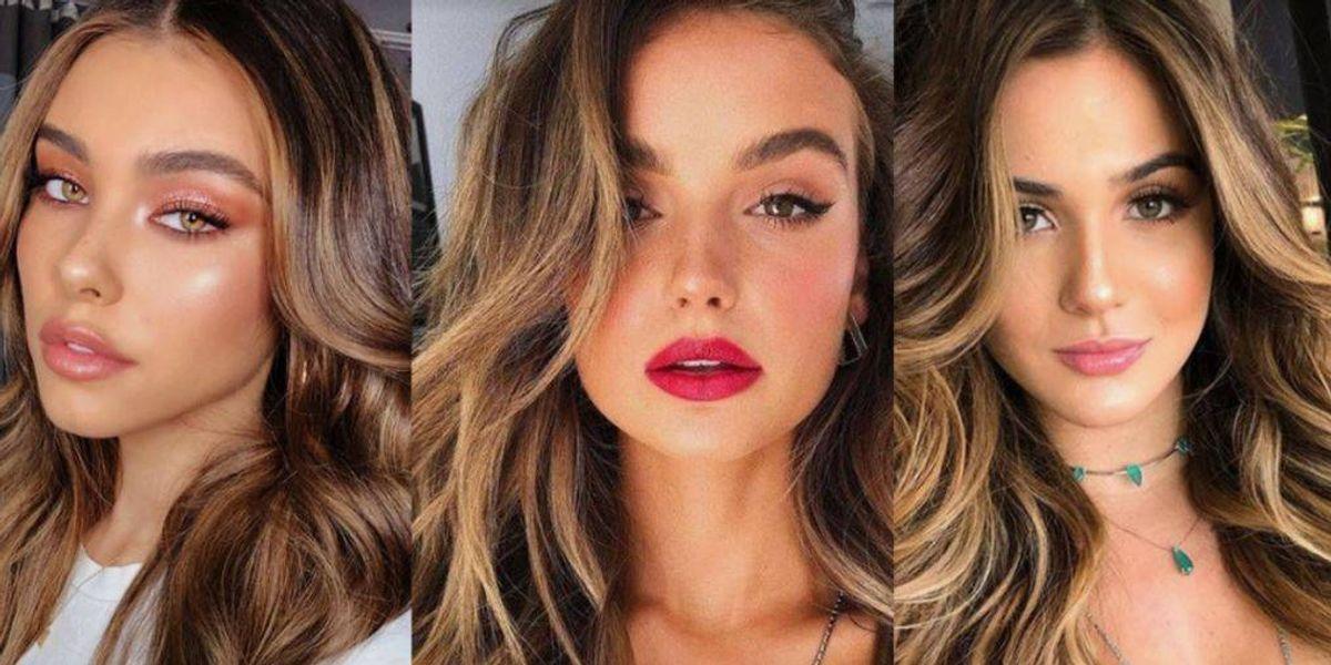 5 maneras de lucir tintes de cabello en tono marrón dorado, ideales para chicas morenas