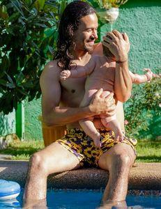 Francisco Puelles y su hijo, Silvestre