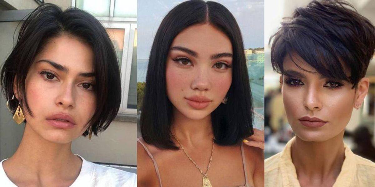 Estilos de cabello corto para mujeres de cara redonda que te harán lucir espectacular