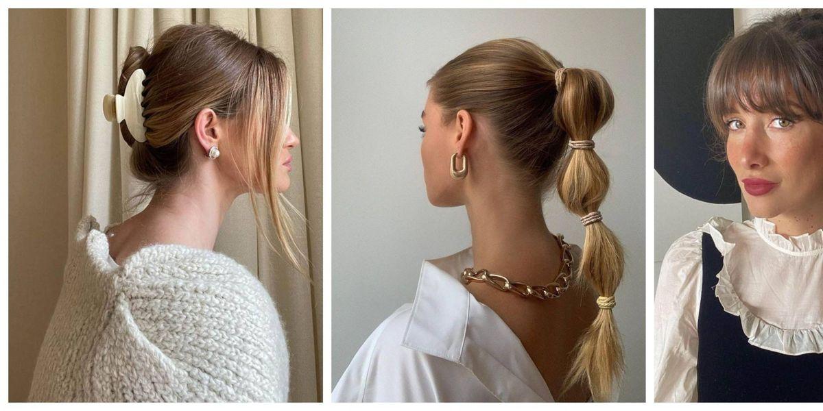 Peinados recogidos modernos: los estilos que puedes hacer en 10 minutos
