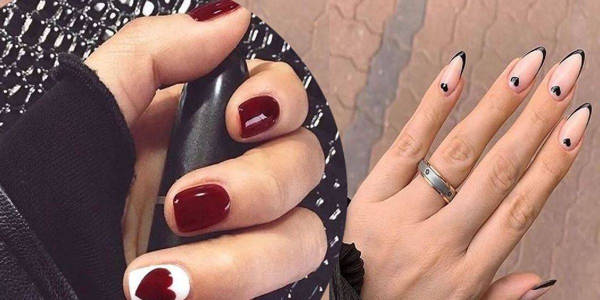 Uñas delicadas inspiradas en el 14 de febrero para proyectar un estilo romántico y femenino