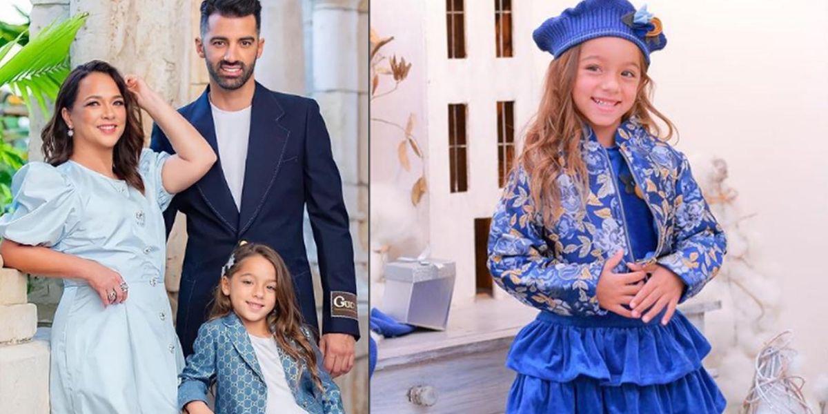 Adamari Lopez y Toni Costa están criando a una hija muy fuerte y segura y así es como lo logran