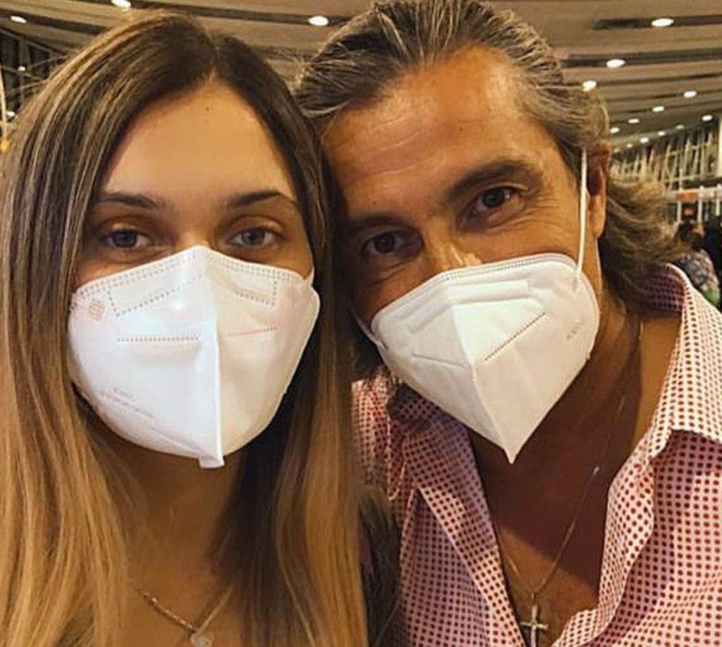 Fernando Solabarrieta y su hija Maite