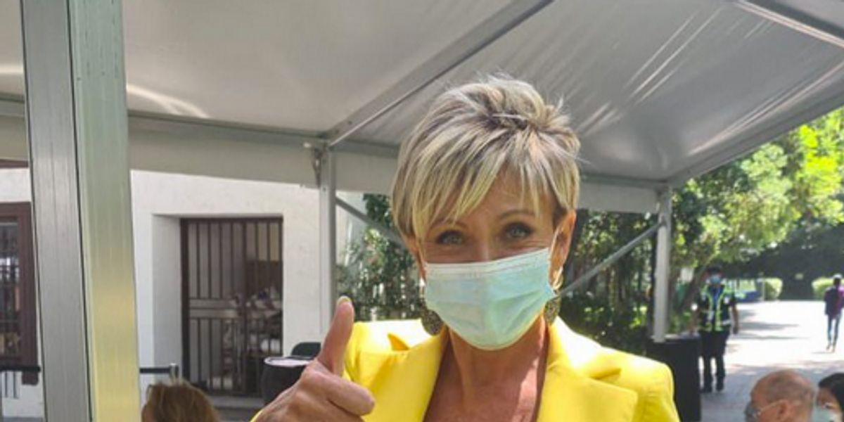 """Raquel Argandoña siente que se """"usó su imagen"""" tras polémica por vacunación anticipada"""
