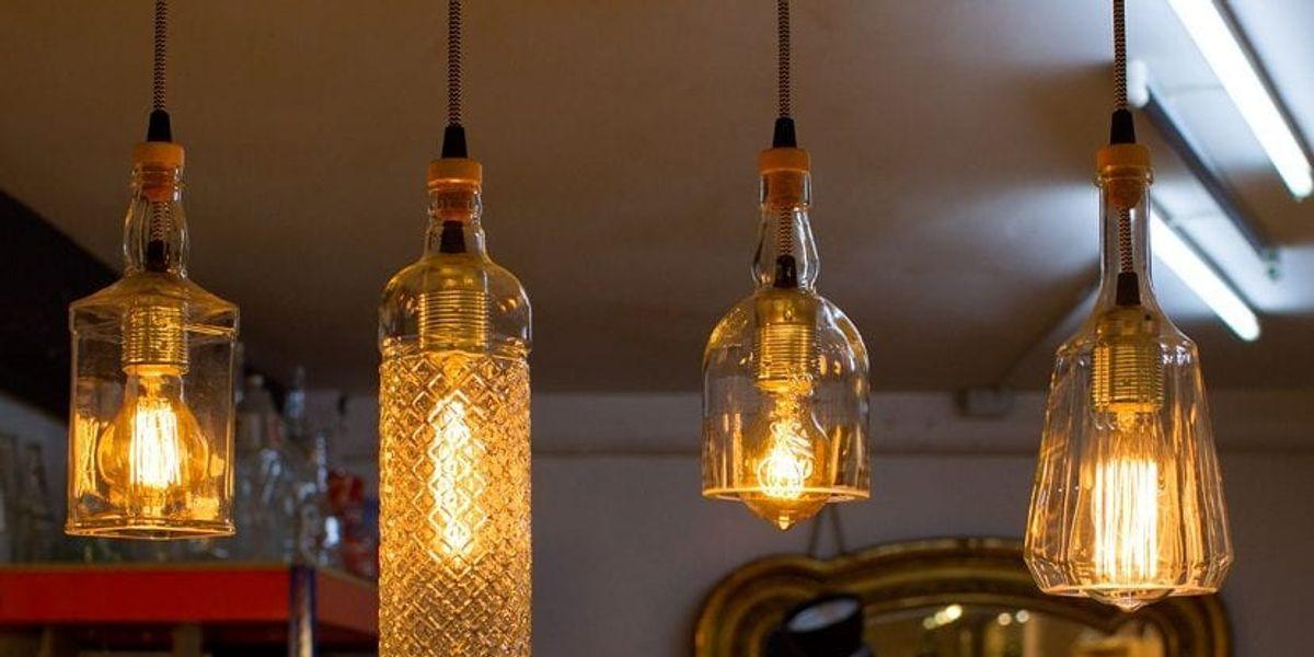 Creativas propuestas de lámparas ecológicas para el interior
