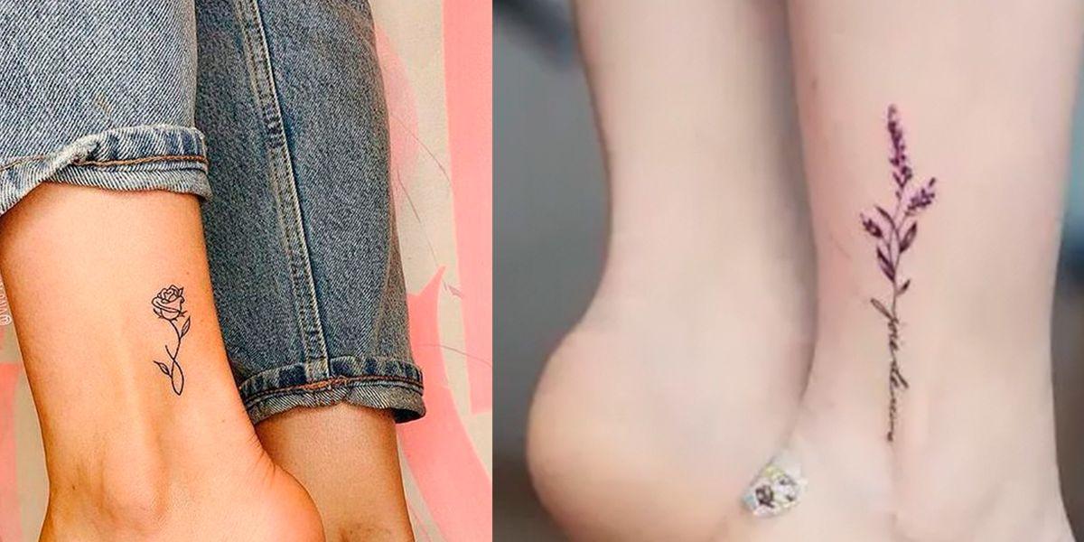 Tatuajes en el tobillo para mujeres valientes que han superado las pruebas más duras