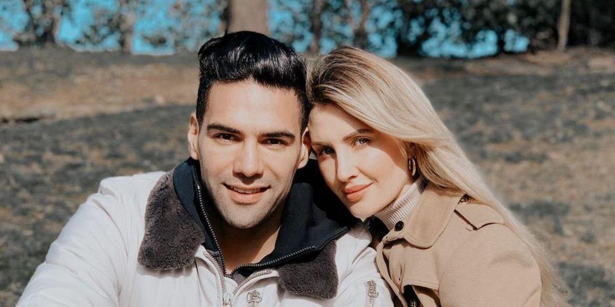 Falcao y Lorelei Tarón preocuparon al revelar que una de sus hijas está en el hospital