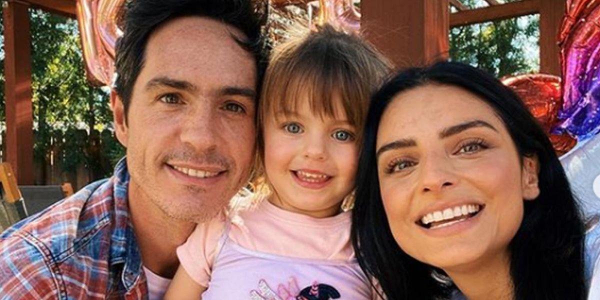 Aislinn Derbez y Mauricio se unen para festejar el cumpleaños de su hija y dan lección de madurez