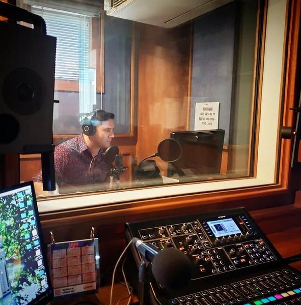 Pancho Saavedra en Radio Pudahuel
