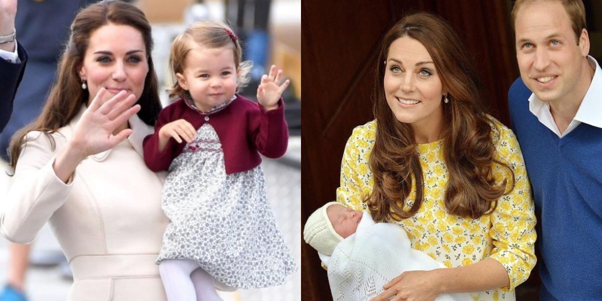 Revelan nueva foto de la princesa Charlotte y demuestra que es idéntica a Kate Middleton