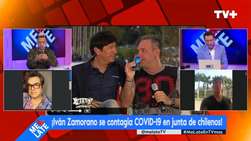 En el programa señalaron que Luis Jara también asistió a la junta donde se habría producido el contagio