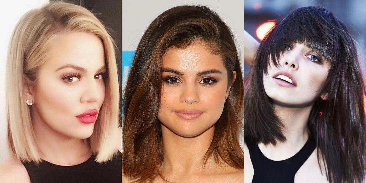 5 cortes de cabello que afinan el rostro y son perfectos para caras redondas