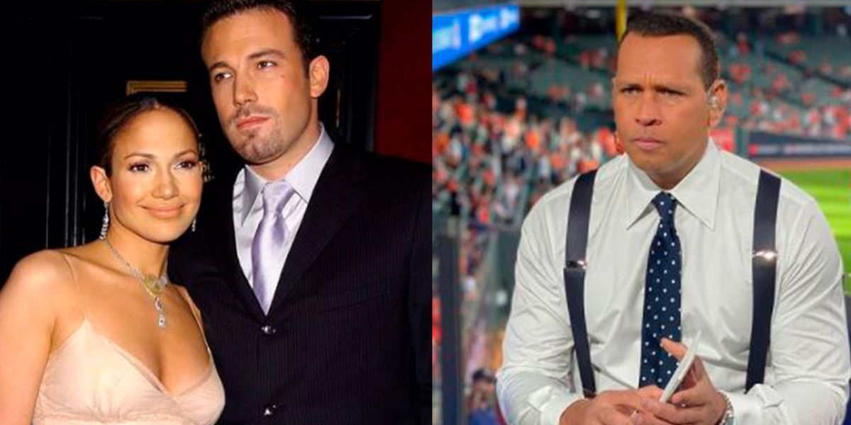 Mientras Jennifer Lopez reaparece con Ben Affleck, Alex Rodriguez cena con misteriosa rubia