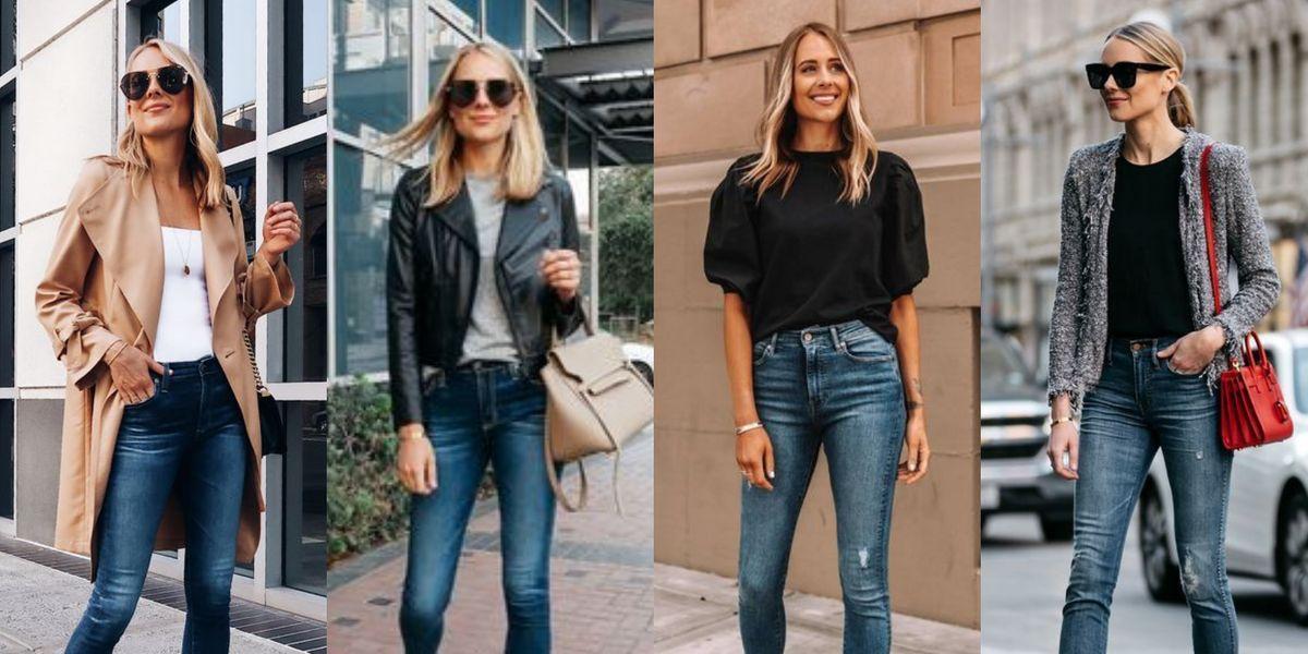 5 ideas de looks con los mismos jeans para renovar tus atuendos si te cansaste de vestir igual