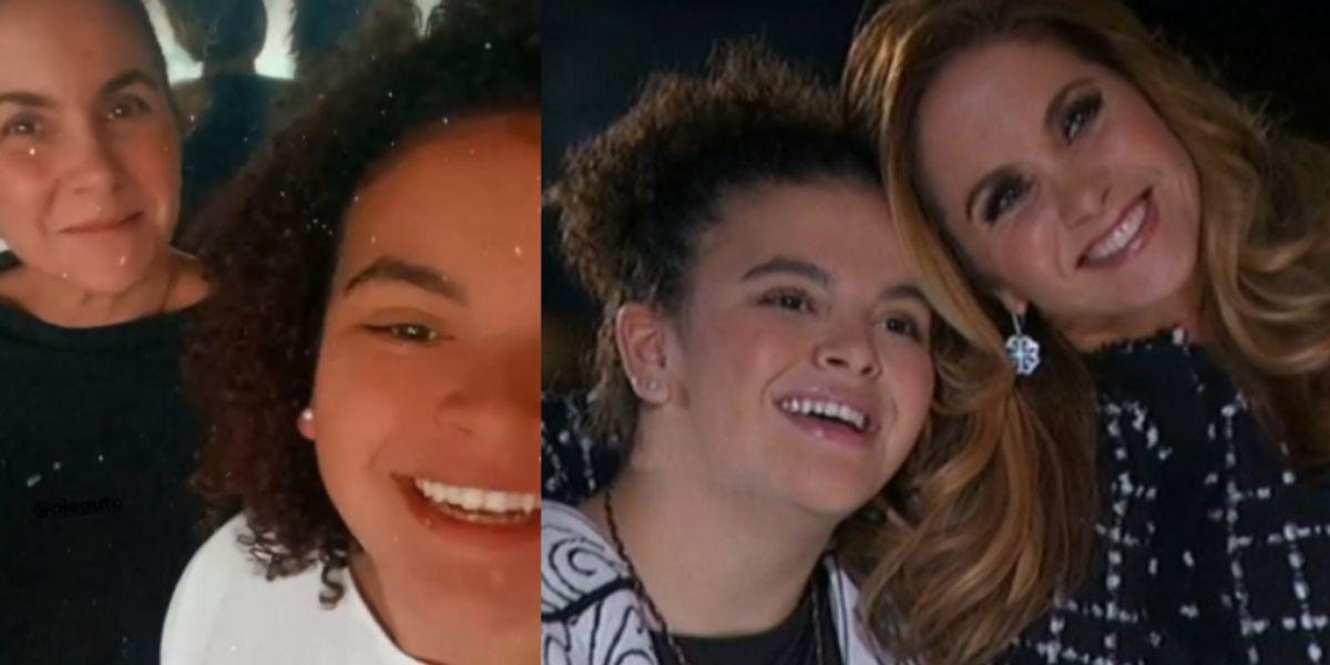 Lucero y su hija se dejan ver sin una sola gota de maquillaje y sorprenden con su belleza