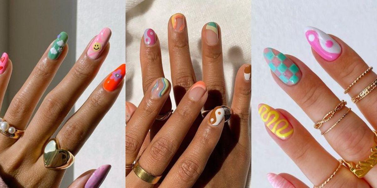 Indie nails: la tendencia de uñas más coqueta y divertida de la temporada ¿La pruebas?