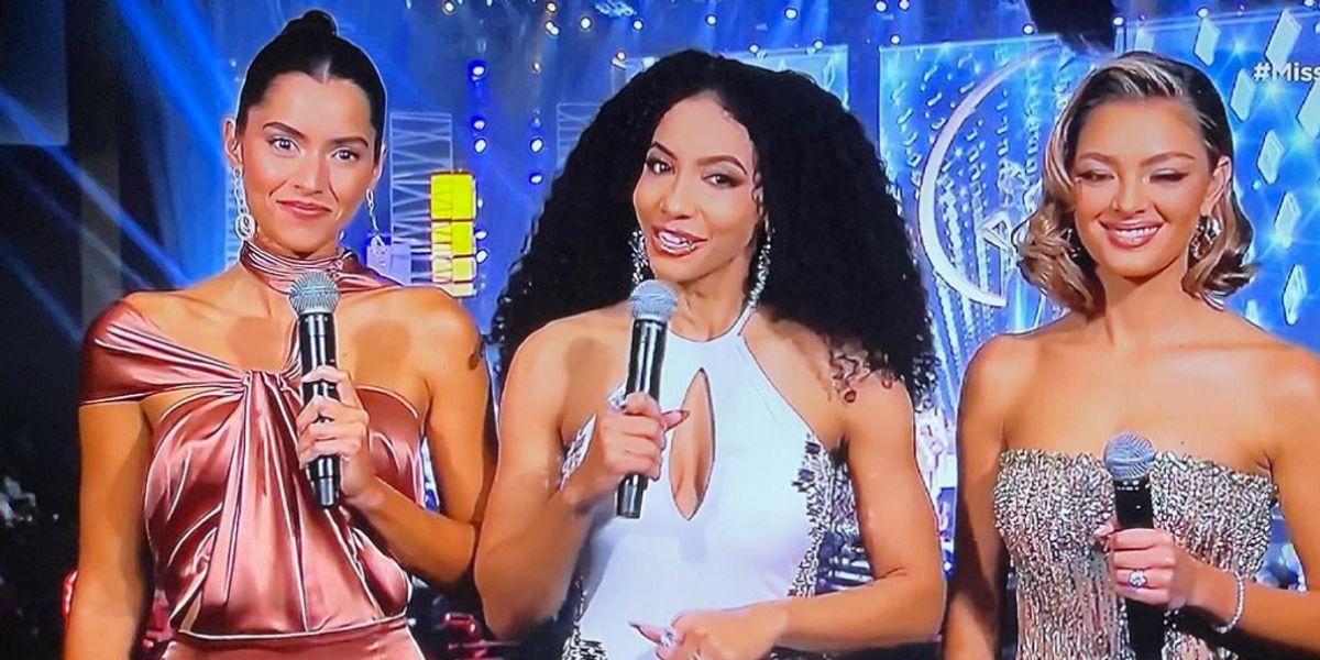Paulina Vega se estrenó como presentadora de Miss Universo y su vestido no convenció