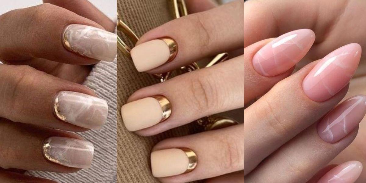 Diseños de uñas elegantes y discretas para llevar a la oficina