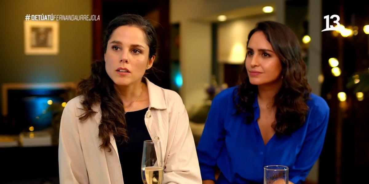 """Fernanda Urrejola anuncia su matrimonio con Francisca Alegría: """"No me lo esperaba"""""""
