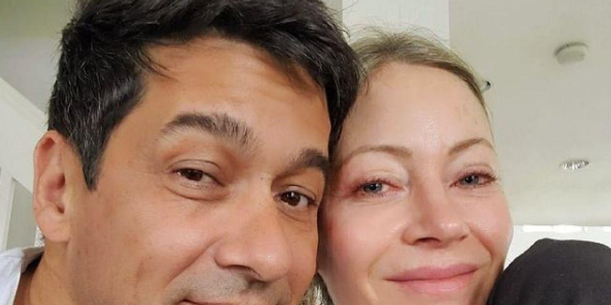 Así es como Marcela Vacarezza y Rafael Araneda celebraron 21 años de matrimonio