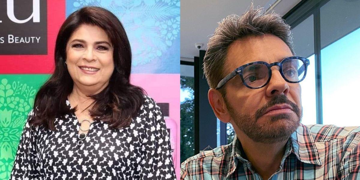 """Victoria Ruffo asegura que ella es la """"bruja maldita"""" para Eugenio Derbez tras su relación"""