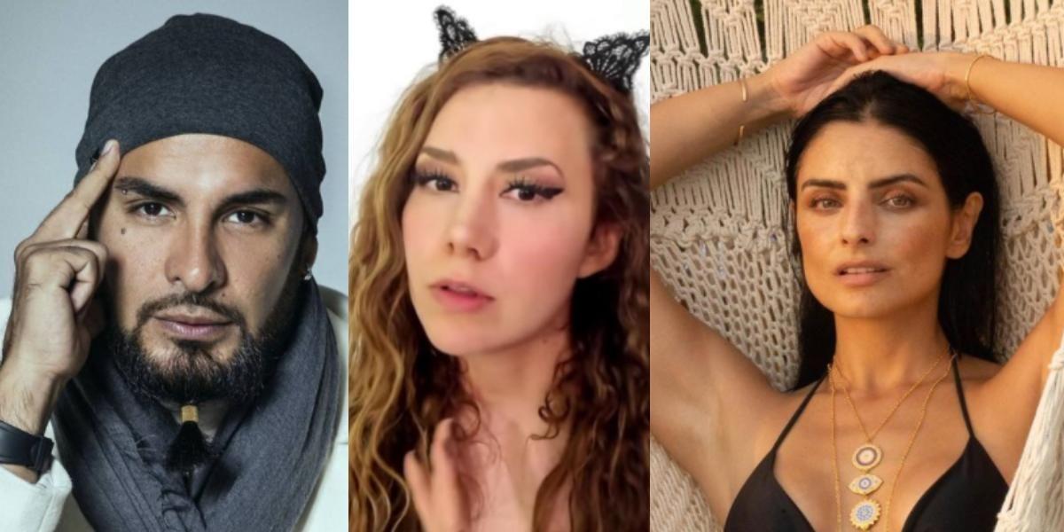 Aislinn Derbez y otras famosas que apoyan a las víctimas de Ricardo Ponce