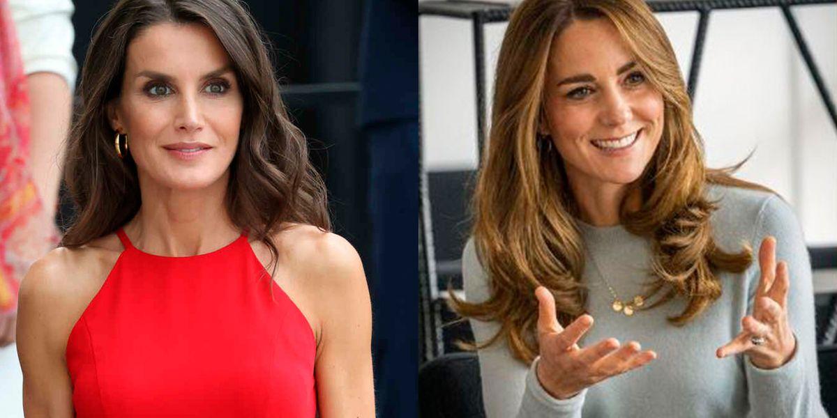 Kate Middleton y Letizia tienen el peinado más elegante y así lo puedes hacer para lucir como reina