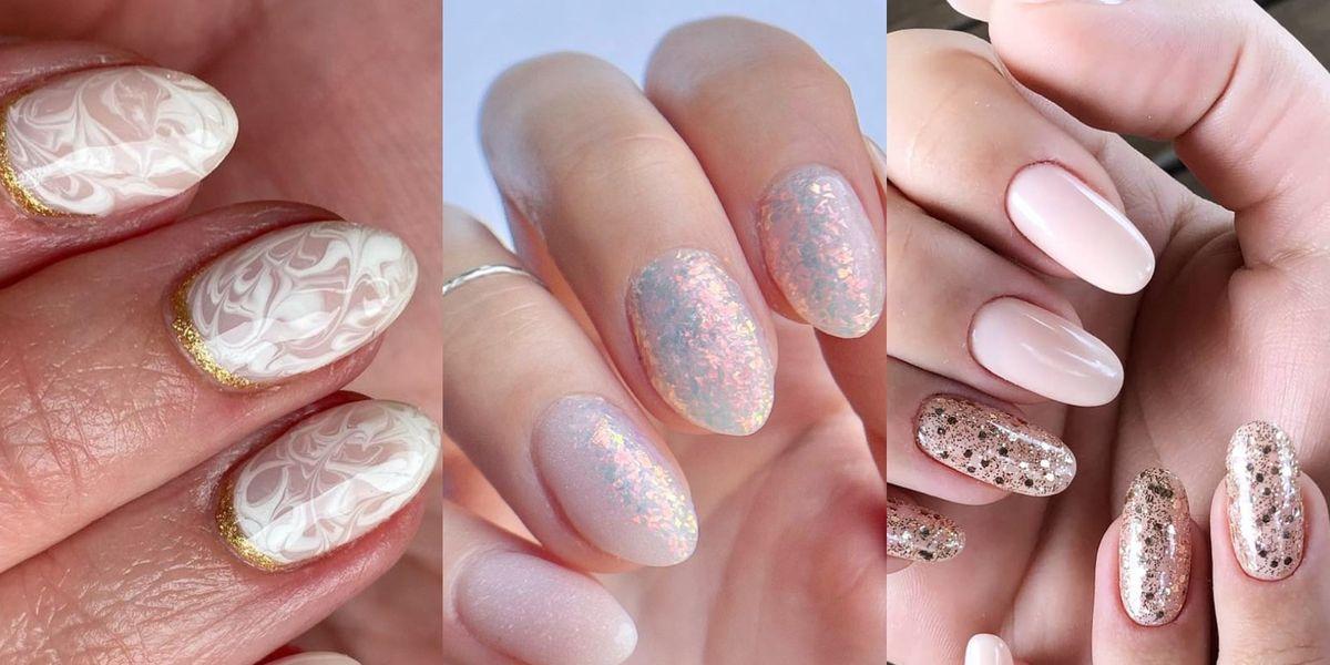 Diseños de uñas blancas sutiles y discretas que rejuvenecen después de los 40