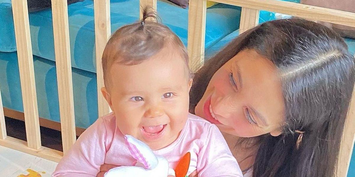 """Yamna Lobos celebra la nueva hazaña de su hija Agustina: """"Se lanzó mi chanchita, qué emoción"""""""