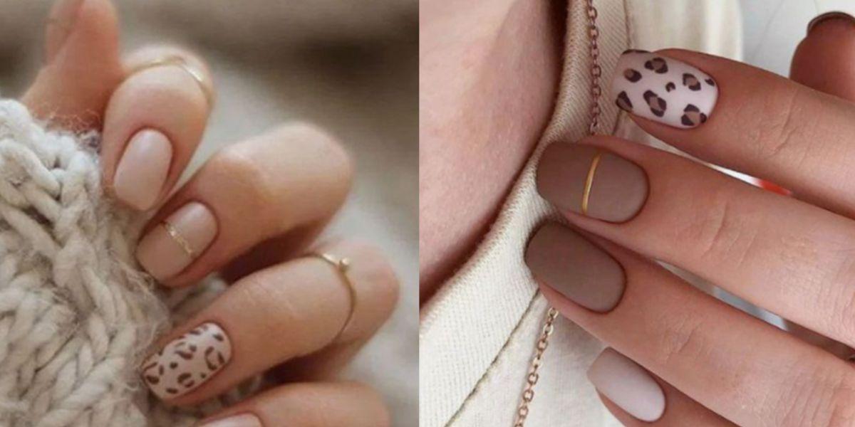 Uñas animal print para una manicura elegante y con estilo en el verano