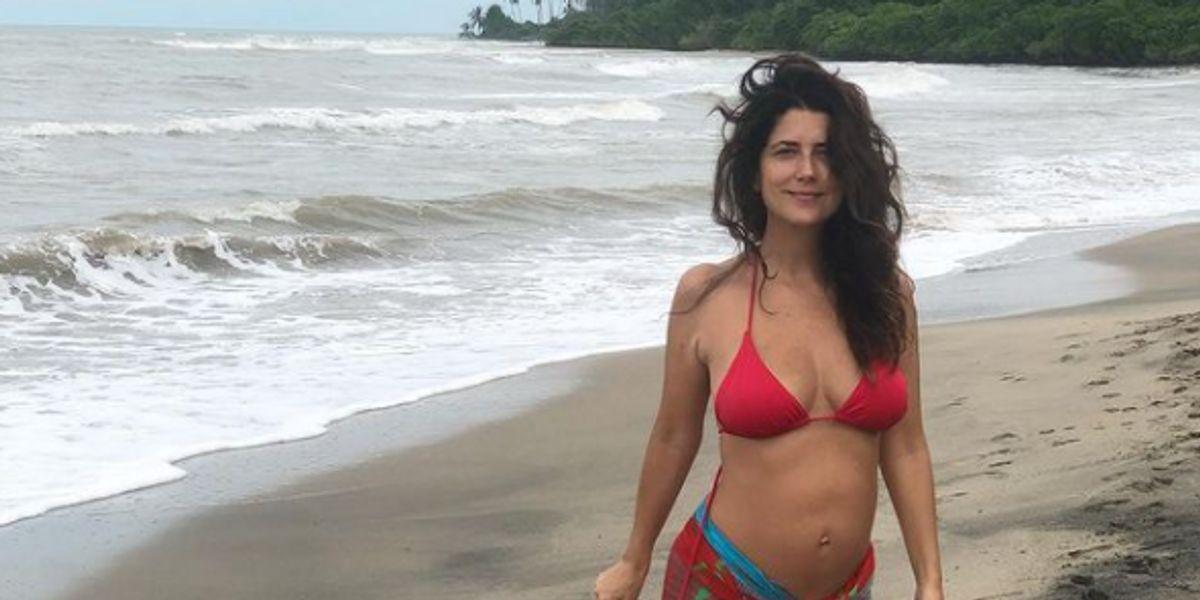 Valentina Acosta dio a luz a su hija y así comunicó su llegada al mundo