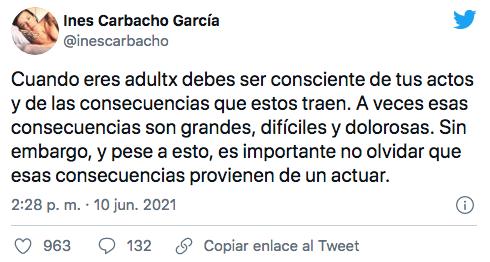 Inés Carbacho, ex sposa de Luis Gnecco