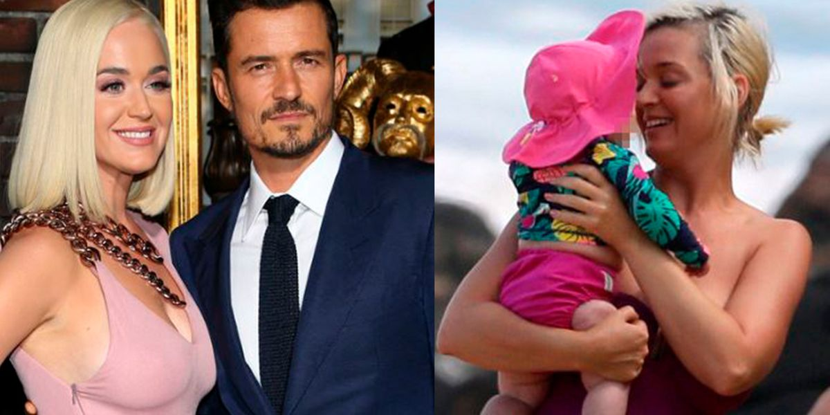 Katy Perry y Orlando Bloom muestran lo mucho que ha crecido su hija durante vacaciones en Capri