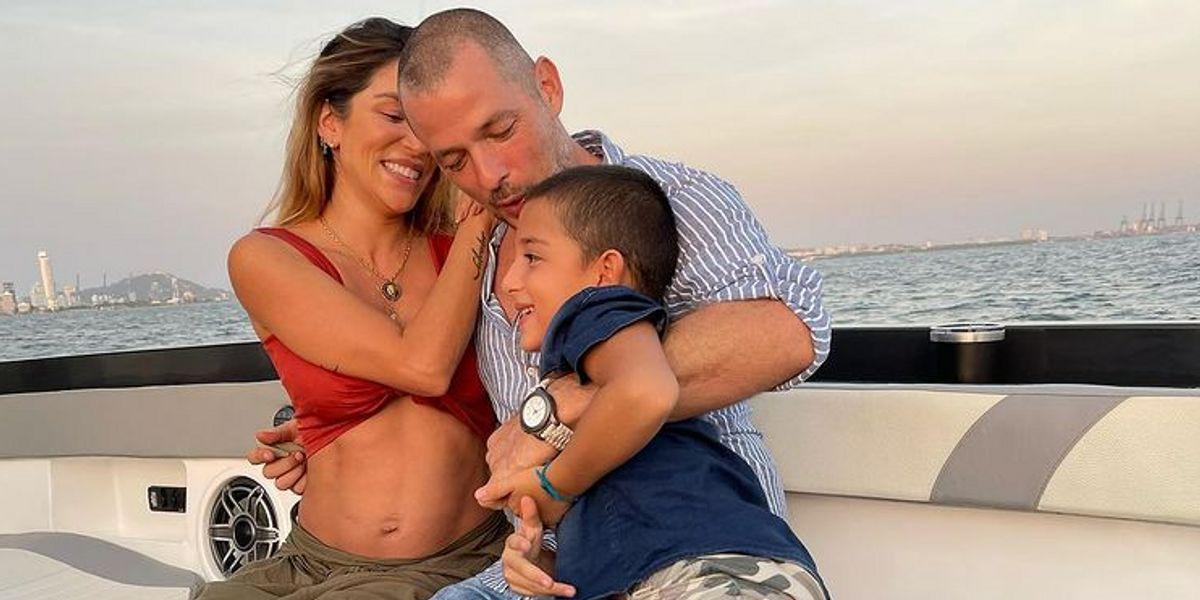 Valentina Lizcano compartió la primera foto de sus hijos juntos y conmovió a miles