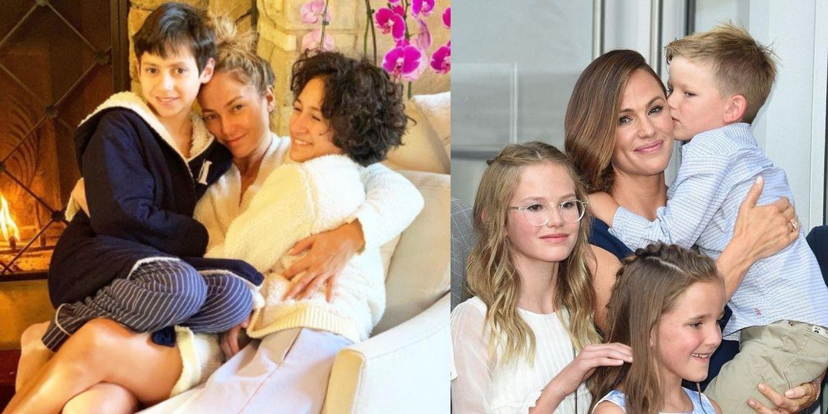 Hijos de JLo y Jennifer Garner demuestran que tener una mamá fuerte es el mejor ejemplo