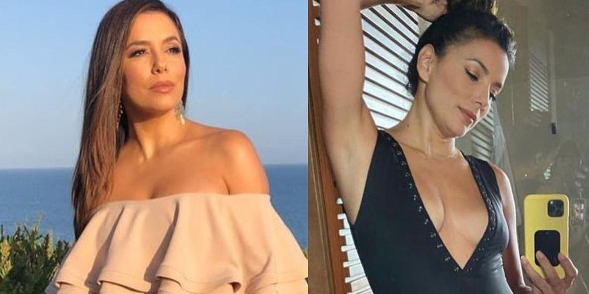 Eva Longoria celebra el Día del Bikini luciendo mejor que nunca a sus 46 años
