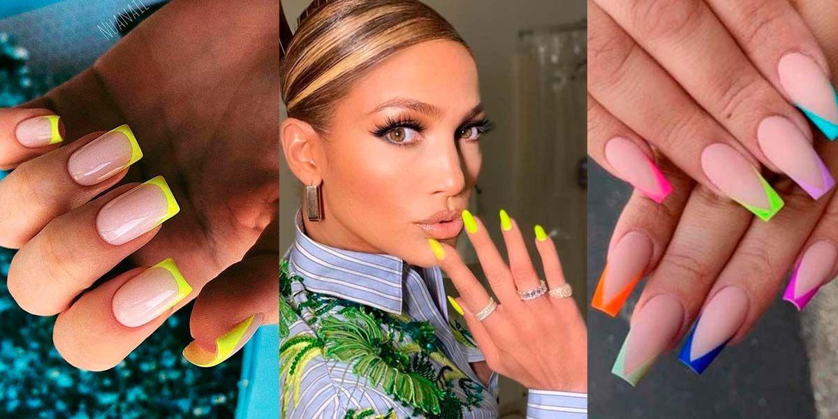 Los diseños más chic para unirte a la tendencia de las uñas neón