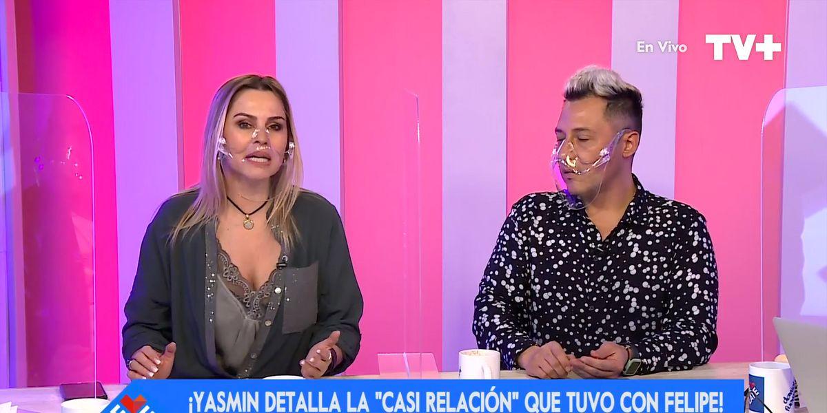 """Yasmín Valdés entregó detalles de su amorío con Felipe Camiroaga: """"Fue un intento de relación, pero no funcionó"""""""