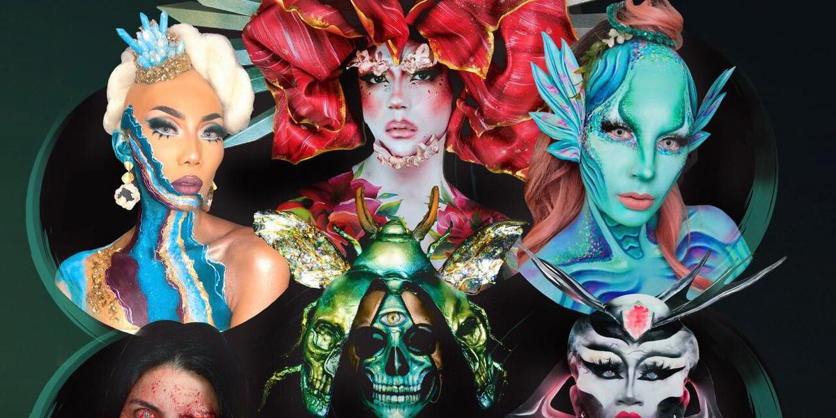 Los maquillistas artísticos se unen en un súper evento en Ecuador