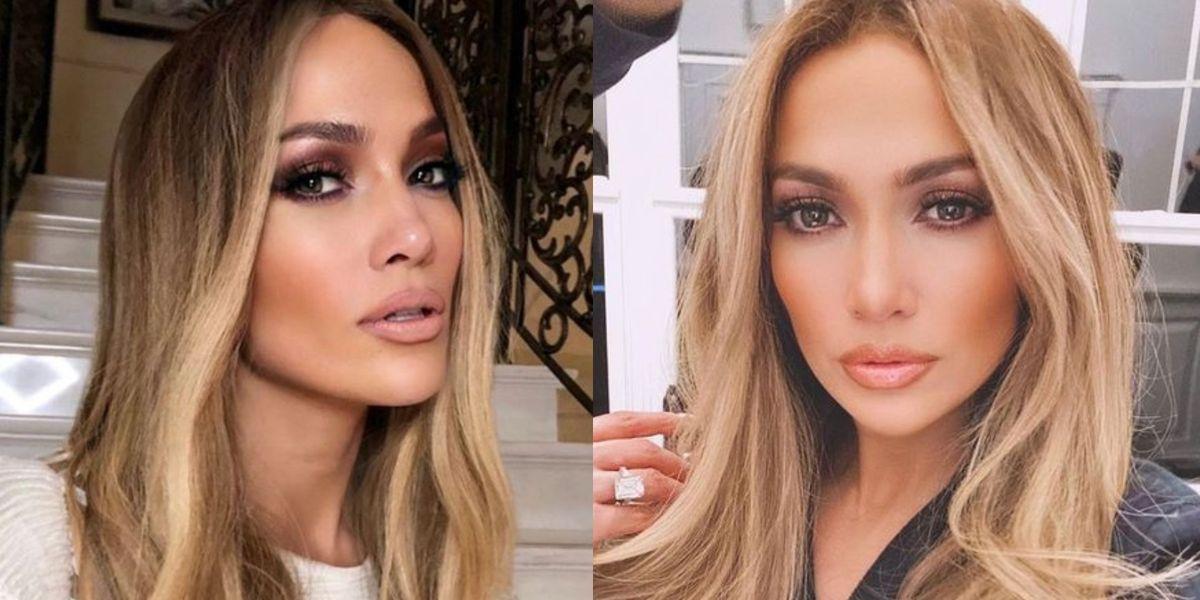 Jennifer Lopez presume su melena dorado bronce, el tinte ideal para las morenas este verano