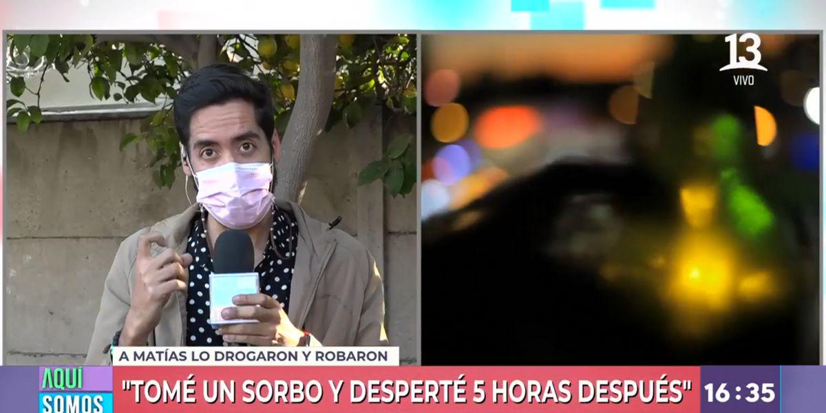 Periodista de 'Aquí Somos Todos' revela que lo drogaron para robarle