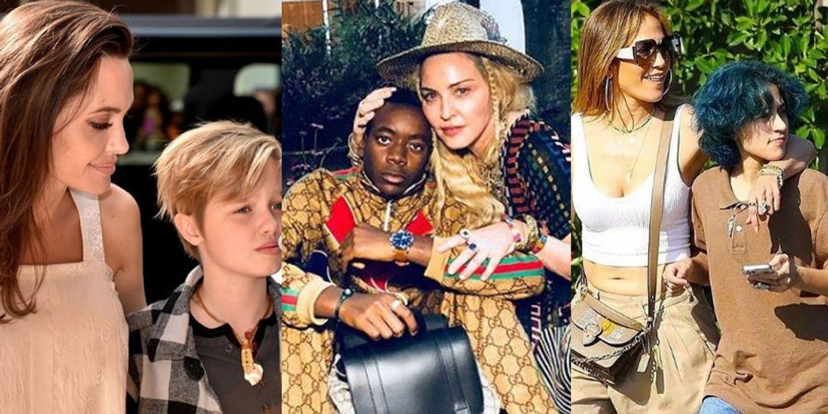 Angelina y famosas que prueban que la felicidad de sus hijos importa más que el qué dirán