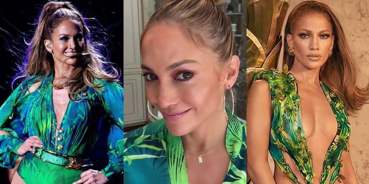Jennifer Lopez rescata un estilo de hace 20 años y prueba que luce igual de joven